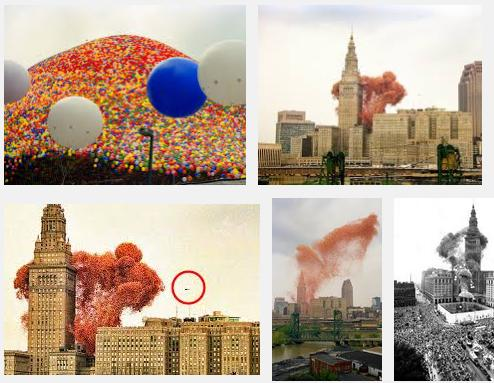 10 Cleveland, Ohio, the United Way launched 1.5 million balloons