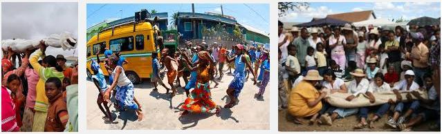 11 Famadihana Malagasy people of Madagascar