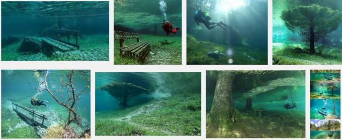 12 park Styria Austria is submerged in water every year