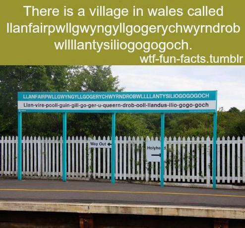 52 Village in wales