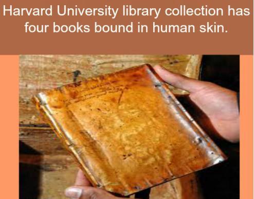 54 bound by human skin