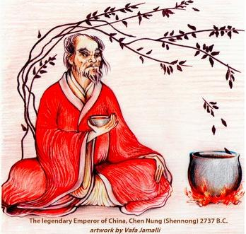 6 emperor of china discovered tea