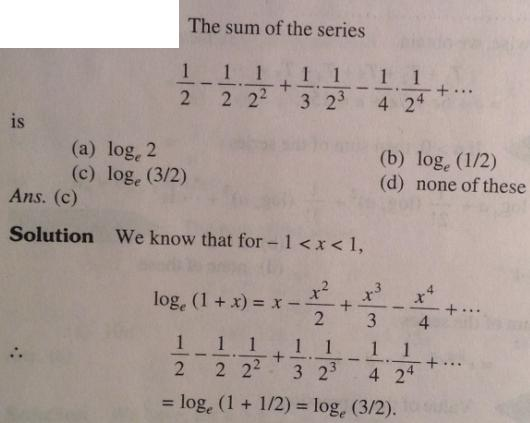 15 Series problems for IIT JEE SKMClasses Subhashish