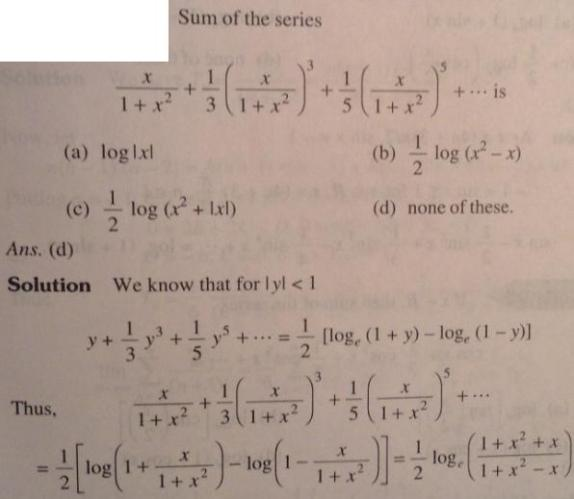 29 Series problems for IIT JEE SKMClasses Subhashish