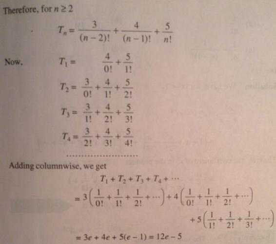 9 Series problems for IIT JEE SKMClasses Subhashish