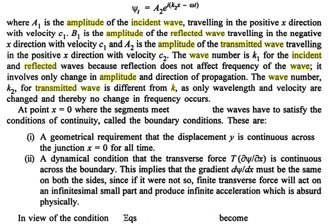 10 Reflected Transmitted incident propagated wave SKMClasses