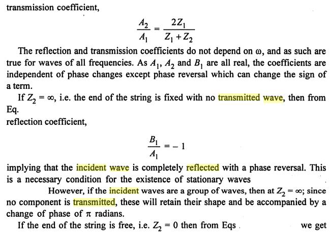 13 Reflected Transmitted incident propagated wave SKMClasses