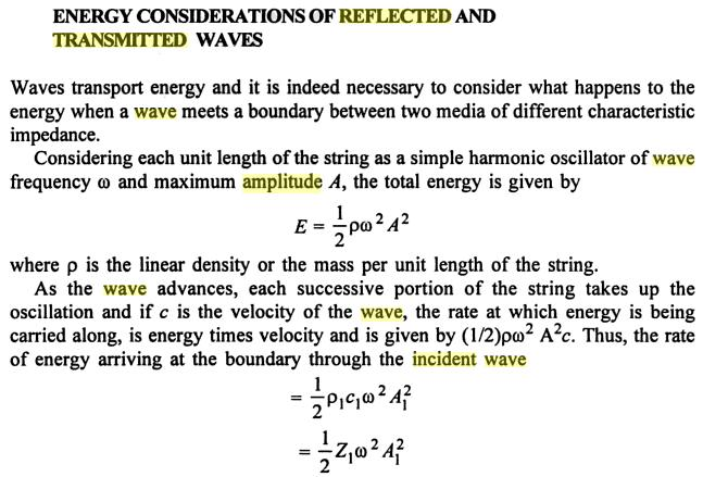 16 Reflected Transmitted incident propagated wave SKMClasses