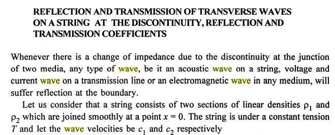 8 Reflected Transmitted incident propagated wave SKMClasses
